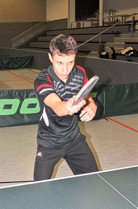 Philip Disch (SV Kirchzarten) war der beste Spieler der U15-Jungen. Fotos: Maier